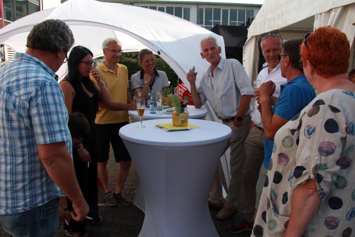 Schönes Sommerfest beim Fensterhersteller FTF Sander