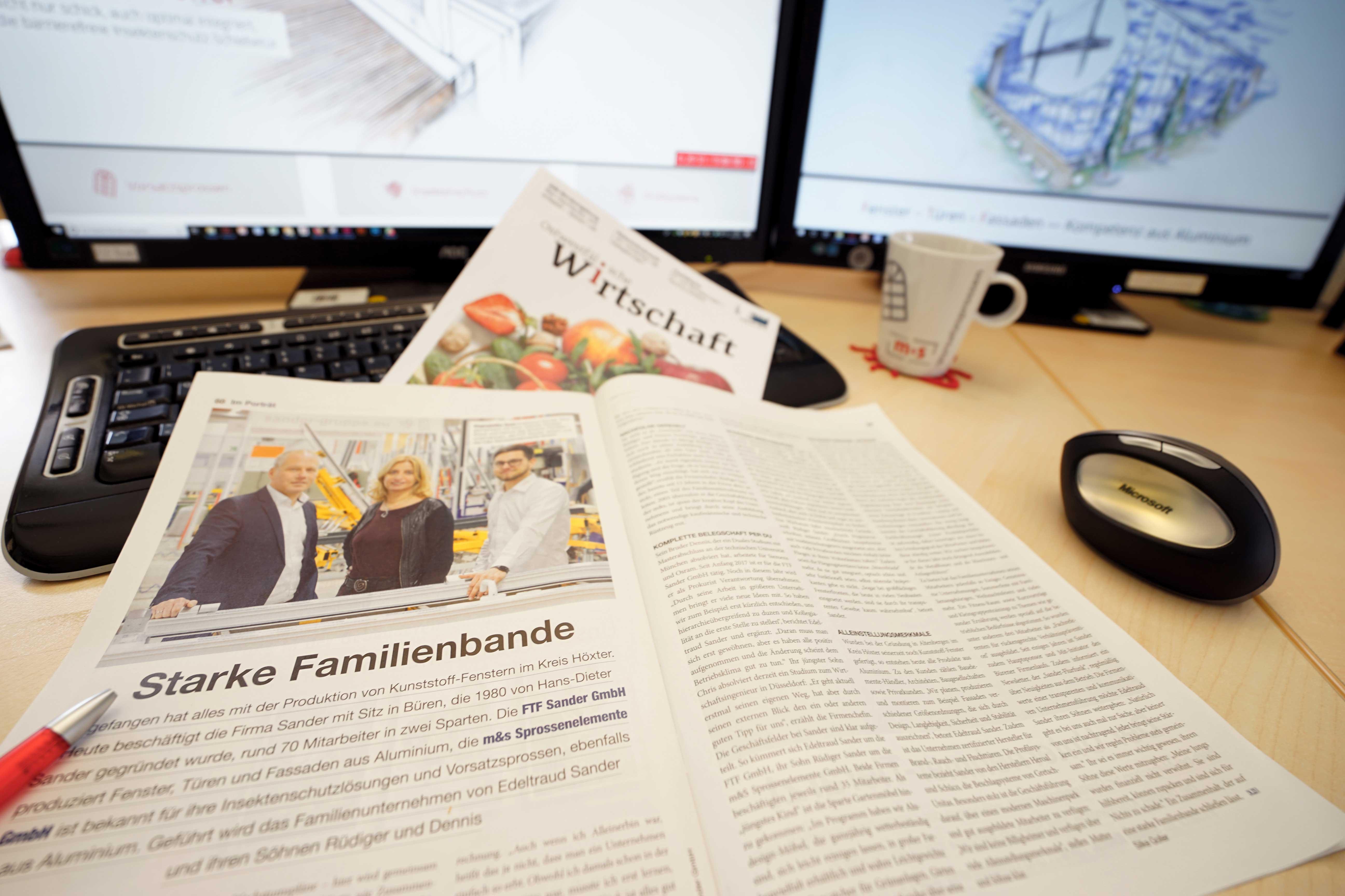 Sander Unternehmensgruppe - starke Familienbande