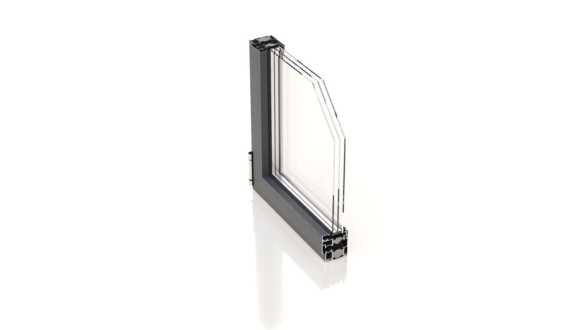 Aluminium Fenster Profil heroal w72i